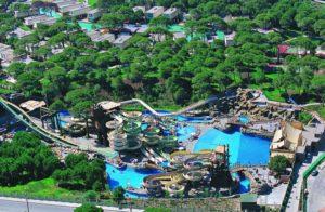 отель с аквапарком в белек