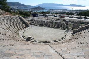 античный театр в бодруме