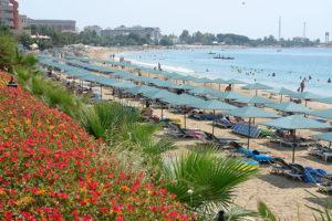 пляж отеля антик гарден 4