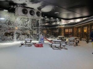 снежный мир в анталье