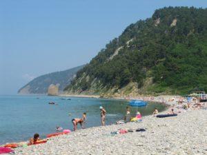 пляж в прасковеевке