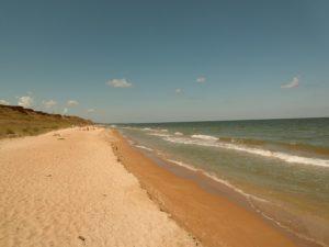 пляж в пересыпе