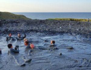 грязевой вулкан на мысе пекла