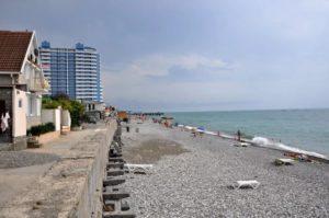 пляж лазаревского района