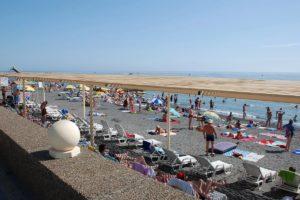 центральный пляж в адлере