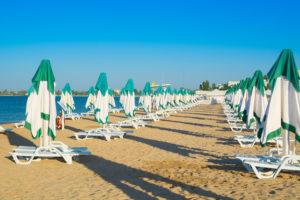пляж лазурный в евпатории