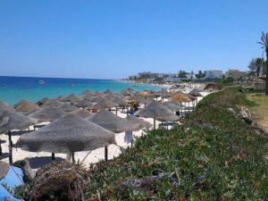 пляж в Порт Эль Кантауи