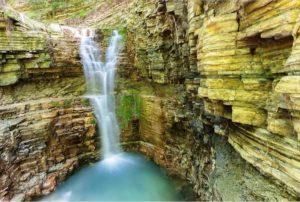 водопад в туапсе