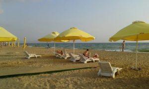 пляж отеля Дача Del Sol 4* в анапе