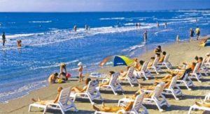 пляж санатория Малая Бухта 3* в анапе