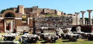 древняя цитадель Кадифекале на горе Пагус