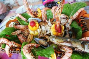 морепродукты на кипре