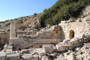 древний город аматус на кипре