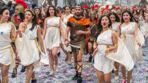 карнавал в лимассоле