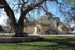 храм Панагии Ангелоктисти на кипре