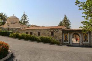 монастырь Святого Ираклидия на кипре