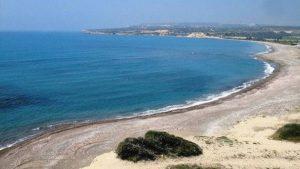 пляж эвдиму в Писсури на Кипре