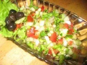 турецкий салат рока