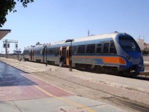 поезд в тунисе