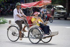 велорикши во вьетнаме