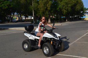 По Кипру на квадроцикле