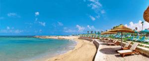 пляж отеля Olympic Lagoon Resort Paphos 5*