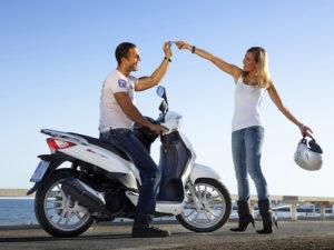Забронировать скутер в Испании