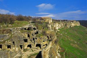 пещерный город чуфут - кале в крыму