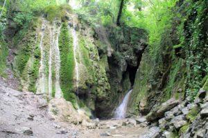 бигиусские водопады в туапсе
