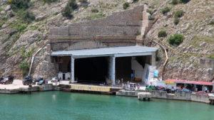 музей подводных лодок в Балаклаве Крым