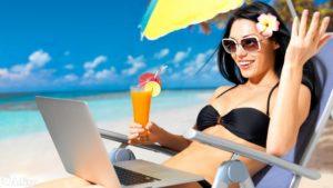 заработать на отдых в интернете
