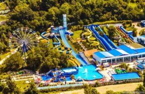 Крупные аквапарки в Сочи