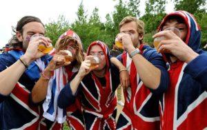 Британские туристы