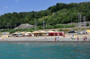 пляж пансионата красный штурм в сочи