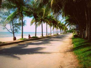 курортный город ча ам в тайланде