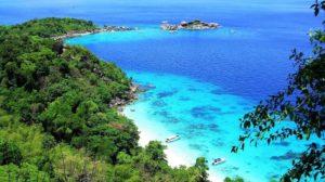 Симиланские острова в Тайланде