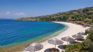 Голубой флаг на пляжах Турции