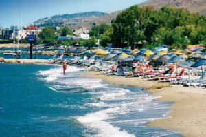пляжи курорта измир