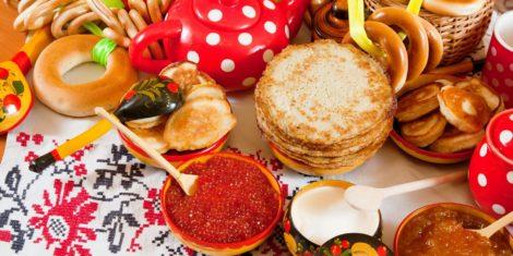 русская популярная еда