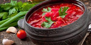 Популярные блюда русской кухни