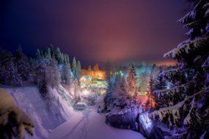 отдых в карелии зимой