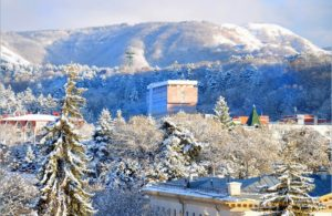 курорт кисловодск зимой