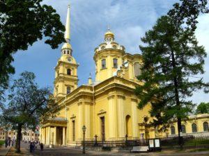петропавловский собор в санкт - петербурге