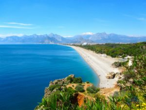 Лучшие песчаные пляжи в Турции