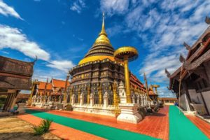 храм Ват Пхра Тот Лампанг Луанг