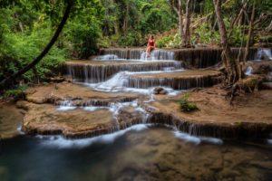 водопад в парке Хуэан Сринагариндра
