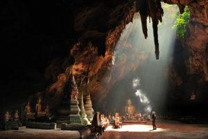 пещеры в парке khuean srinagarindra