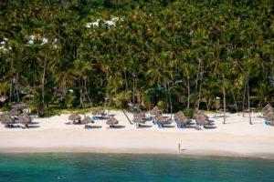 Пляж курорта Meliá Caribe Beach & Punta Cana Beach, Пунта-Кана