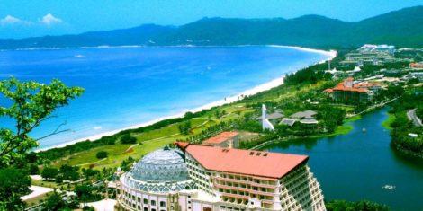 Курорт Санья в Китае