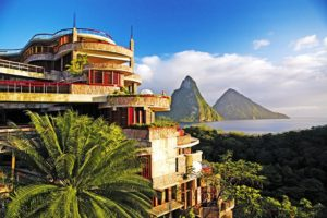 Jade Mountain Resort, Сент - Люсия